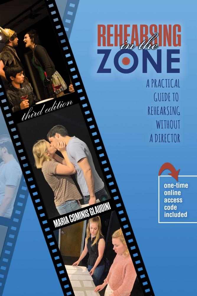 Cover image of Rehearsing In The Zone, by Maria Cominis